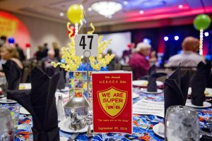 Table Setting at HEROES Gala